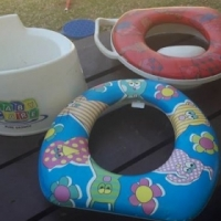Baby care toilet seats
