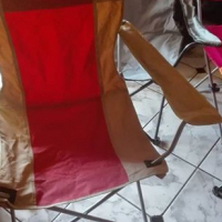 Camping chairs(6)with ambrella