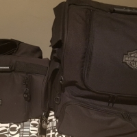 Harley Davidson touring bags