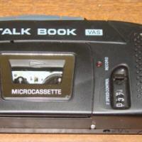 Sanyo micro casette speler nuut