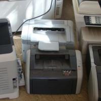 Verskeie printers,almal werkend met toner