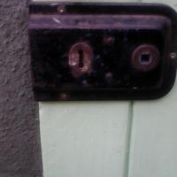 Old oregon plne door