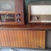 4 Antique Radios