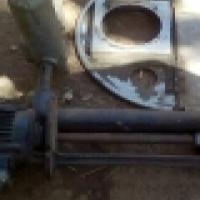 Electric motor & pump .63kw