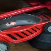 Mighty mini lawn mower combo