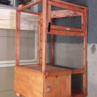 Rabbit cage double story