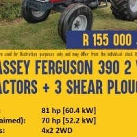 Pre-owned Massey Ferguson 390 2WD Tractor