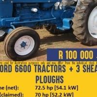 Pre-owned Ford 6600 Tractor