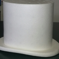 Where can order polystyrene tophats in bulk  in Johannesburg, Linden.
