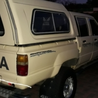 1987 Toyota Double Cab Bakkie 4x4