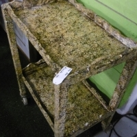 Retro funky trolley table