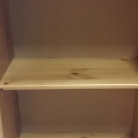 900 x 600 Pine File Rack/ Book shelf - Oregon