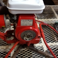 Concrete mixer electric 2.2kw