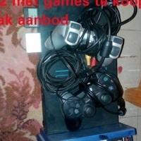 Ps 2 playstation met 2 remotes klomp games
