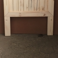 Headboard Chunky Farmhouse series Single bed - Raw