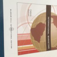 Textbook - international marketing