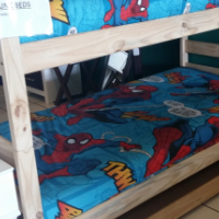Pine Connor Bunk Bed - Raw