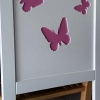 Butterfly Head Board Single (910)