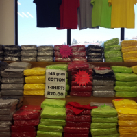 T/SHIRTS AND CONTI SUITS ON SALE