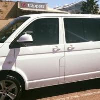 White VW Kombi 2.0 TDi 2011