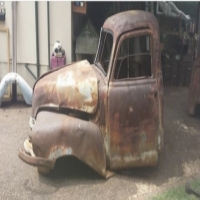 Chevrolet Cab, Front Clip Includes Fenders & Bonnet