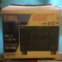 Yamaha RX-V463 amplifier and component system receiver.