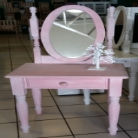 1 Drawer Dressing Table - Pink