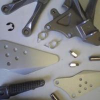 Kawasaki ZX10R ZX10 ZX 10 Footrest Brackets