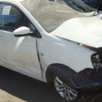 salvage/accident damage polo vivo