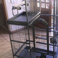 African Grey Parrot Cage - (Cage only)