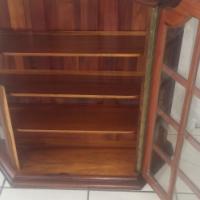 Fechters constansia blackwood display wall cabinet