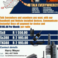 Cellular Digital Two-way Radio with GPS