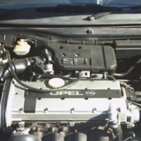 Opel Astra F 200ie  c20xe stripping
