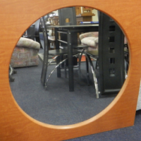 Large Wooden Mirror