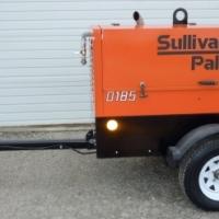 Ready to Use 2014 Sullivan D185P3JD Diesel Air Compressor 185 CFM 110 PSI 190 HOURS