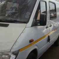 salvage/accident damage  mercedes benz
