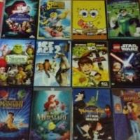 Kiddies dvds.