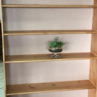 1800 x 1200 Pine Combo Book Shelf - Oregon