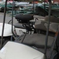 Stripped Golf Cart