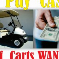 Golf Cars Wanted in Any Condition Running or Not