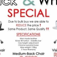 Black & White Sale