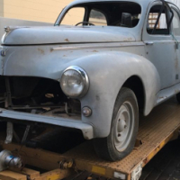 BARN FIND  PEUGEOT 203 FOR SALE