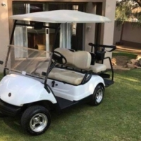 2011 Yamaha 4 Seater Golf Cart + Trailer