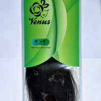 "VENUS 4*4 Lace Closure 8"" -- Free deliver -- 100% virgin human hair"