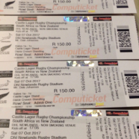 4 x Rugby Tickets to Newlands , SA vs NZ.