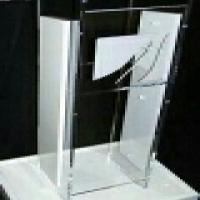 U shape podiums and pulpits