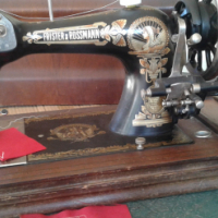Frister and Rossmann portable sewing machine
