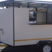 Customized Mobile Kitchen Trailers