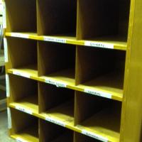 Wooden pigeonhole/shoe rack