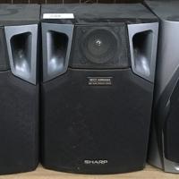 4 sharp speakers